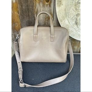 MATT& NAT taupe tote satchel purse